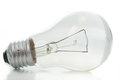 Day light bulb or tungsten with white background Stock Photos