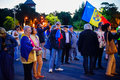 Day 108 of protest, Bucharest, Romania