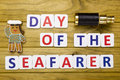 Day a seafarer, celebrated as national holidays Royalty Free Stock Photo