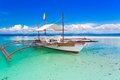 Day tropical sea beautiful turquoise on the philippine island Stock Photos