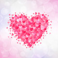 Day of valentine vector illustration heart for Stock Image