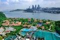Day view of Sentosa island Royalty Free Stock Photo