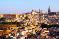 Day view of toledo spain picturesque Stock Photo