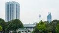 Dayabumi Complex skyscraper in Kuala Lumpur, Malaysia Royalty Free Stock Photo