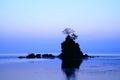 Daybreak at the amaharashi coast in japan Royalty Free Stock Photography