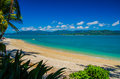 Daydream island whitsunday islands the outlook from on a beautiful day Stock Photography