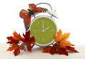 Daylight Saving Time Ends concept Royalty Free Stock Photo
