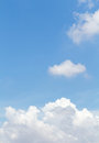 Daylight sky blue and cloud Stock Photography
