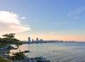 Daytime view of Beach in Hua Hin beach.