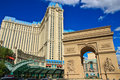 Daytime view of Paris Hotel, Las Vegas Royalty Free Stock Photos
