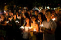 DC Vigil for Iran Royalty Free Stock Photography