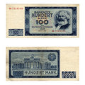 DDR banknote Royalty Free Stock Images