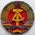 DDR east germany emblem hammer and circle