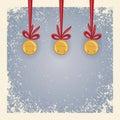 De achtergrond van Kerstmis/van de winter - kenwijsjeklokken. Stock Fotografie