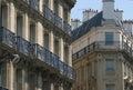 De Architectuur van Parijs Royalty-vrije Stock Afbeeldingen