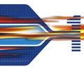 De banda ancha Imagen de archivo libre de regalías
