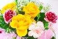 De bloemen van het boeket Royalty-vrije Stock Fotografie