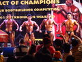 De bodybuildingsconcurrentie in khon kaen thailand Royalty-vrije Stock Foto's