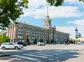 De bouw van stadsbeleid stadhuis in yekaterinburg Royalty-vrije Stock Fotografie