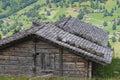 De cabine van de berg Royalty-vrije Stock Foto