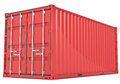 De Container van de lading. Stock Foto