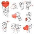 De dag van valentine Royalty-vrije Stock Foto
