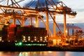 De eindactiviteit van de container Royalty-vrije Stock Fotografie