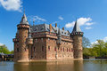 De haar castle ancient near utrecht netherlands Royalty Free Stock Image