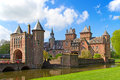 De haar castle ancient near utrecht netherlands Stock Images