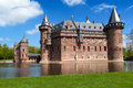 De haar castle ancient near utrecht netherlands Royalty Free Stock Photo