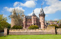 De haar castle ancient near utrecht netherlands Stock Photography