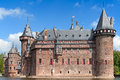 De haar castle ancient near utrecht netherlands Royalty Free Stock Images