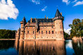 De Haar Castle, the Netherlands Royalty Free Stock Photo