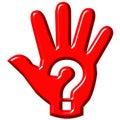 De Hand van de hulp Stock Afbeeldingen