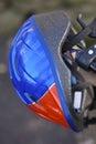 De Helm van de Fiets van het kind Stock Foto