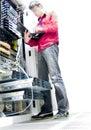 De Ingenieur van IT Royalty-vrije Stock Foto