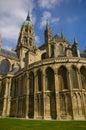 De kathedraal van Bayeux (Notre Dame) Royalty-vrije Stock Fotografie