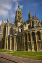 De kathedraal van Bayeux (Notre Dame) Stock Foto