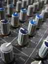 De Knoppen van de mixer Royalty-vrije Stock Foto's