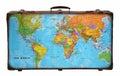 De koffer van de reis