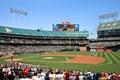 De major league baseball national anthem jogo pre Imagens de Stock