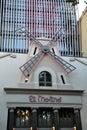 De muziekzaal van gr molino in barcelona spanje Stock Fotografie
