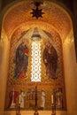De Onbevlekte Ontvangenis van Mary Mosaic Shrine Royalty-vrije Stock Afbeeldingen