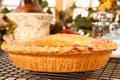 De Pastei van de perzik behandelt Royalty-vrije Stock Afbeelding