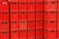 De plastic doos Royalty-vrije Stock Foto