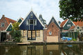 De rijp north holland province the netherlands skykline of historical village and national and unesco monument neherlands Royalty Free Stock Photography