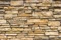 De ruwe Muur van de Steen Stock Afbeelding