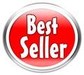 De sticker van de best-seller Royalty-vrije Stock Afbeelding