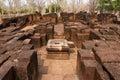 De Tempel van Muang Singh van Prasat Royalty-vrije Stock Afbeeldingen