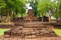 De Tempel van Muang Singh van Prasat Stock Fotografie